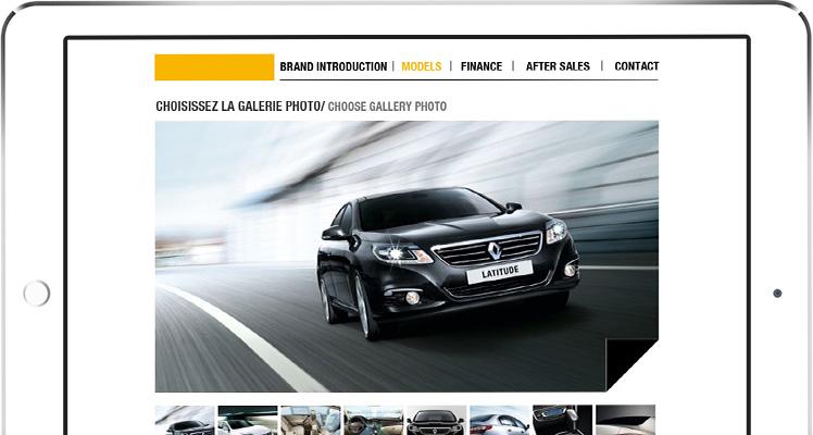 Renault mockup